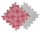 Розовая клетка с собачками